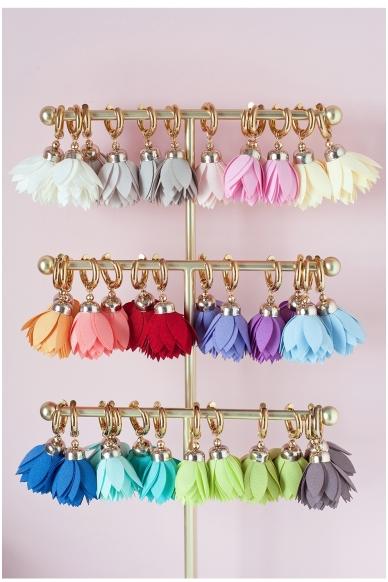 """Earrings """"Flamingo Bloom"""" 2"""