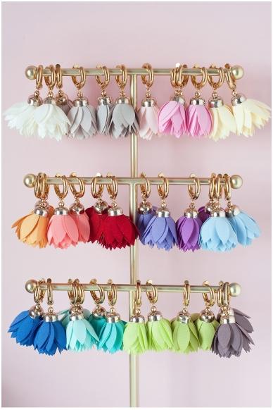 """Earrings """"Royal Bloom"""" 2"""