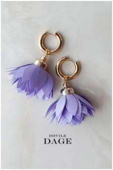 """Earrings """"Lavender Bloom"""""""