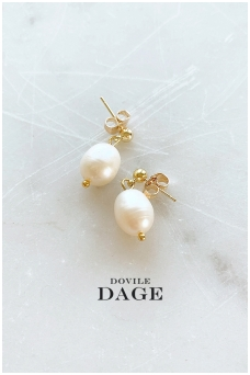 "Earrings ""Mini pearls"""