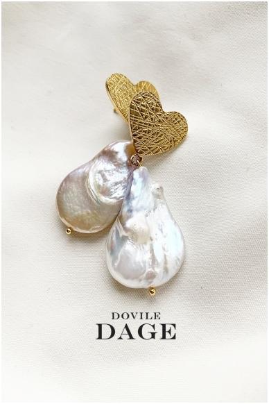 """Earrings """"Baroque love"""""""