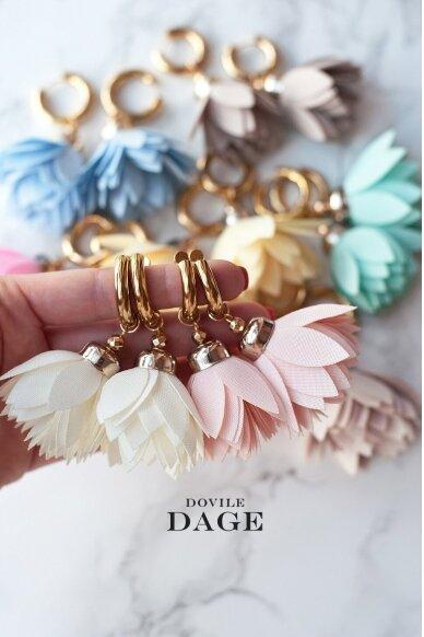 """Earrings  """"Rose Bloom""""  3"""
