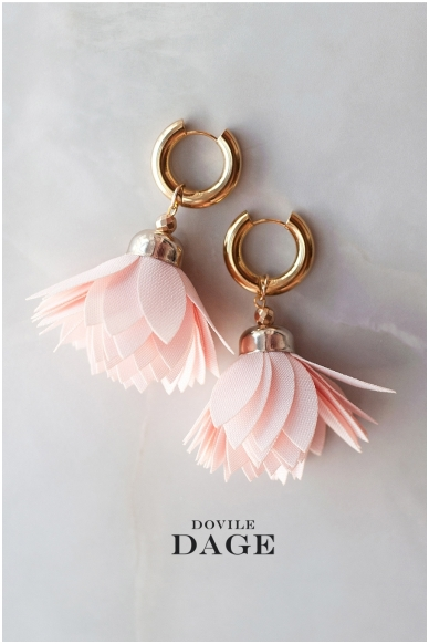 """Earrings  """"Rose Bloom"""""""