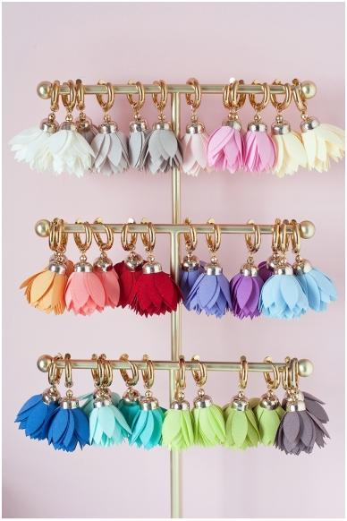 """Earrings """"Lavender Bloom""""  2"""