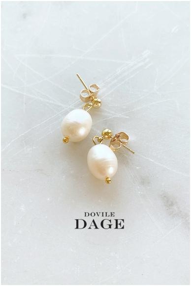 "Earrings ""Mini pearls"""