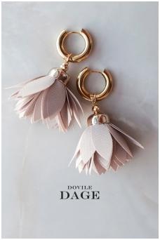 """Earrings  """"Sand Bloom"""""""