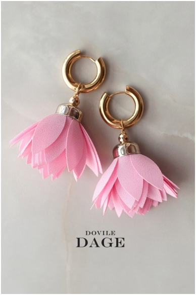 "Earrings ""Flamingo Bloom"""