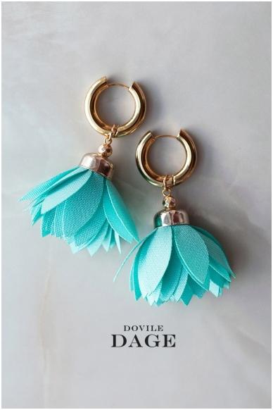 """Earrings  """"Turquoise Bloom"""""""