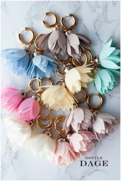 """Earrings  """"Sand Bloom"""" 2"""
