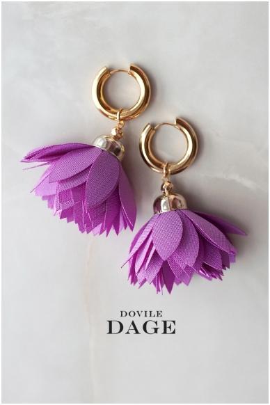 """Earrings """"Grape Bloom"""""""