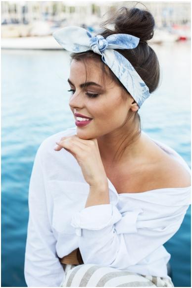 """Olivia"" headscarf"