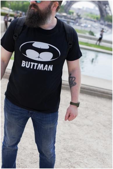 """T-Shirt """"Buttman"""" 2"""