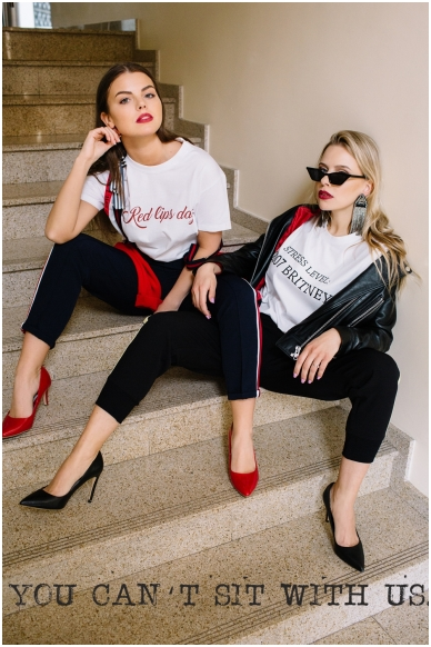 """T-shirts """"Red lips day"""" 3"""