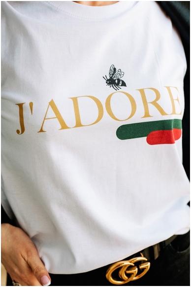 "T-shirts ""J'adore"""