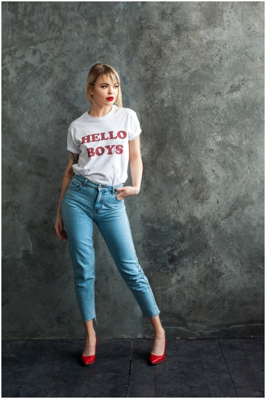 "T-shirts ""Hello Boys"" 2"