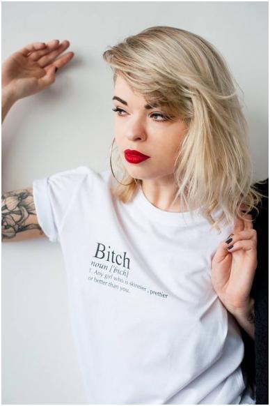 "T-shirts ""Bitch"" 2"