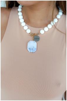 """Necklace """"Lourdes"""""""