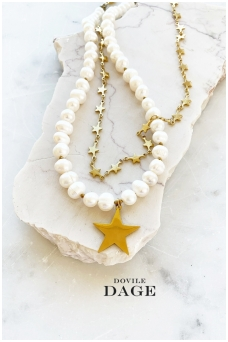 "Necklace ""Set of stars"""