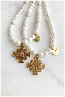"""Necklace """"Kansas in pearls"""""""