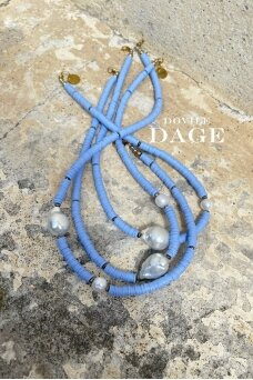 "Necklace ""California blue"""