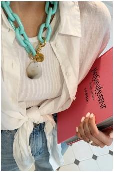 """Necklace """"Josefine Mint"""""""