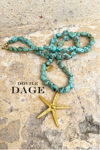 """Necklace """"New Blue Lagoon"""""""