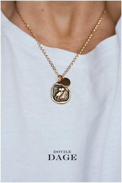 """Necklace """"Greek coin"""" 2"""
