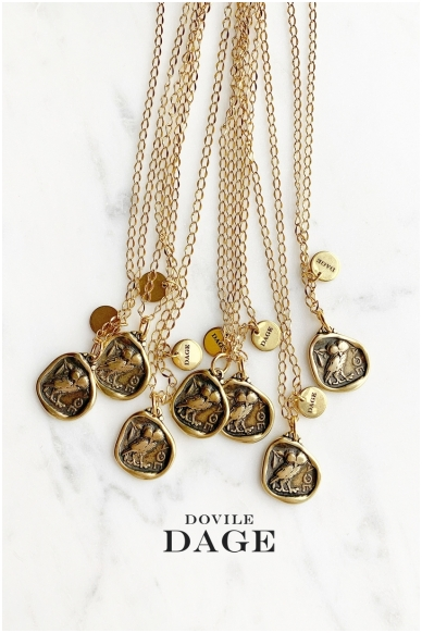 """Necklace """"Greek coin"""""""