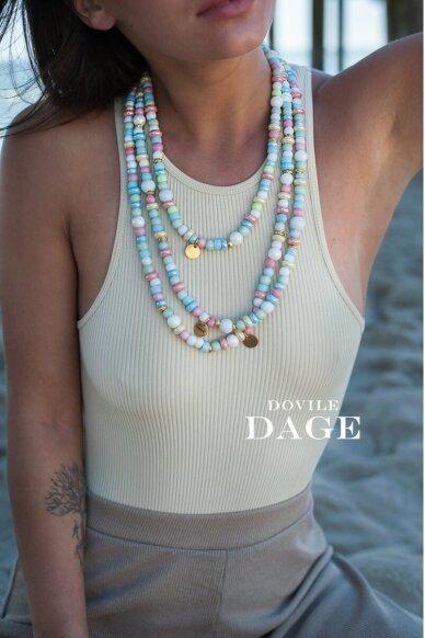 "Necklace ""Multi pastel"""