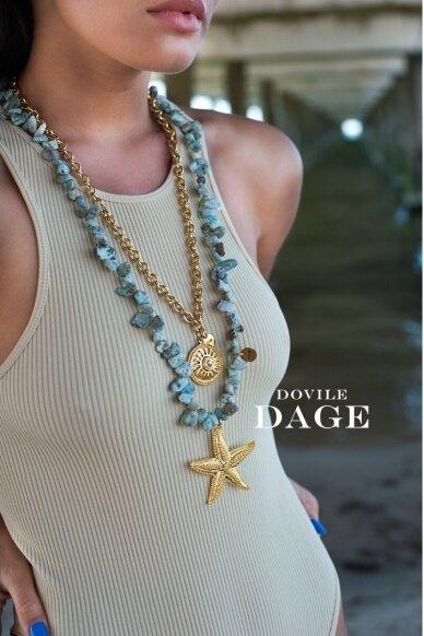 "Necklace ""Blue lagoon"" 3"